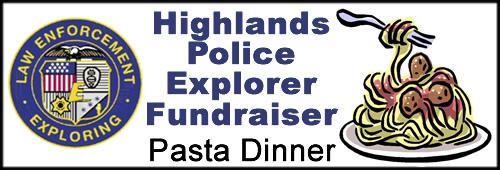 Police Explorers Speghetti Dinner