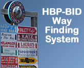 Highlands Business Partnership Way Finding System